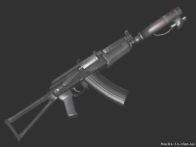 ak-47 Dark Hunter + laser - AK-47 - Models of weapons for CS